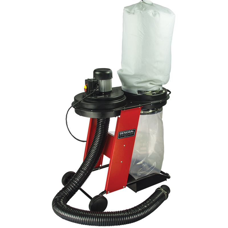 Portable Dust Collectors For Woodworking : General international power products portable dust